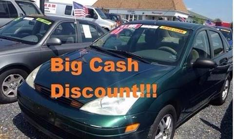 2001 Ford Focus for sale at Ram Auto Sales in Gettysburg PA