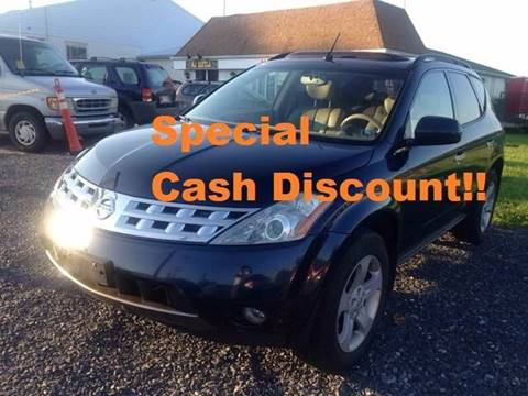 2004 Nissan Murano for sale at Ram Auto Sales in Gettysburg PA