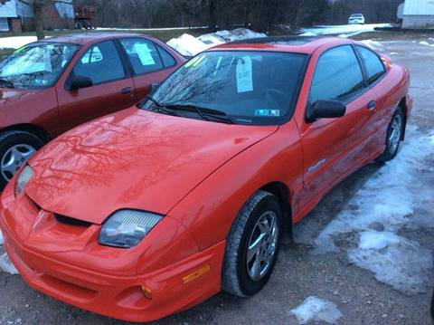 2001 Pontiac Sunfire for sale at Ram Auto Sales in Gettysburg PA