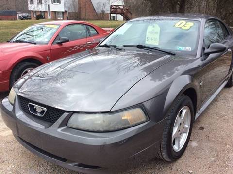 2003 Ford Mustang for sale at Ram Auto Sales in Gettysburg PA