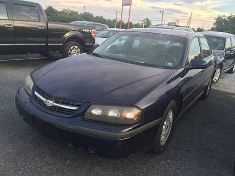 2001 Chevrolet Impala for sale in Gettysburg, PA