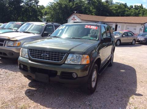 2003 Ford Explorer for sale at Ram Auto Sales in Gettysburg PA