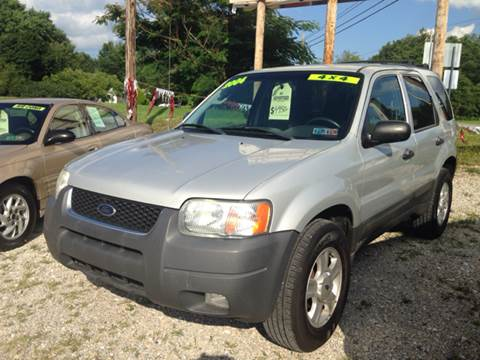 2004 Ford Escape for sale at Ram Auto Sales in Gettysburg PA