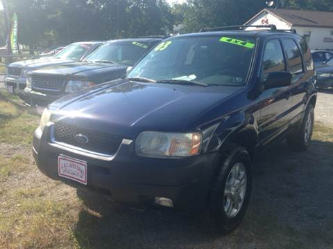 2003 Ford Escape for sale at Ram Auto Sales in Gettysburg PA