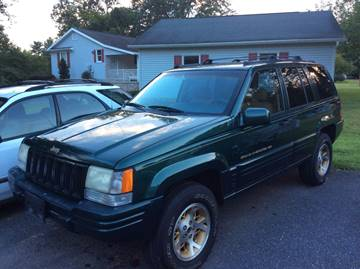 1996 Jeep Grand Cherokee for sale at Ram Auto Sales in Gettysburg PA