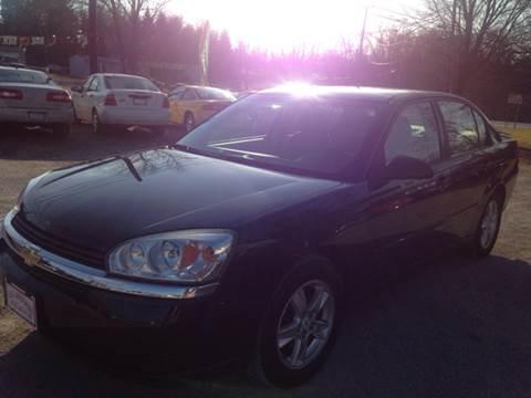 2005 Chevrolet Malibu for sale at Ram Auto Sales in Gettysburg PA