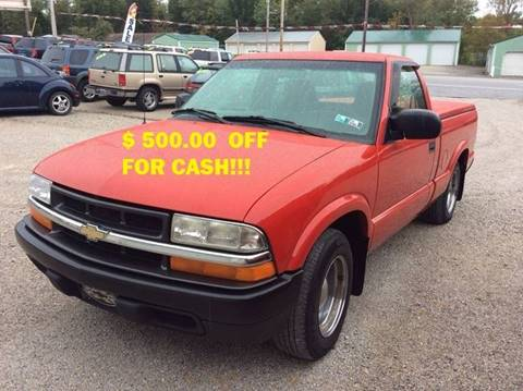 2001 Chevrolet S-10 for sale at Ram Auto Sales in Gettysburg PA