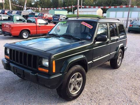 1998 Jeep Cherokee for sale at Ram Auto Sales in Gettysburg PA