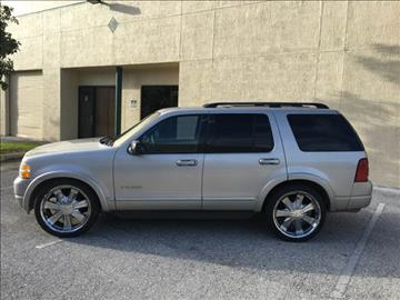 2002 Ford Explorer for sale in Lake Worth, FL