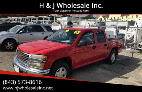 2005 GMC Canyon for sale in Charleston, SC