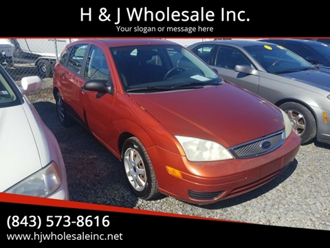 2005 Ford Focus for sale in Charleston, SC