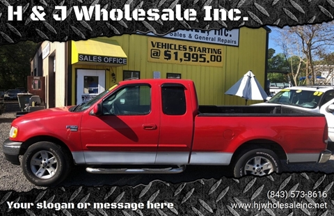2001 Ford F-150 for sale in Charleston, SC