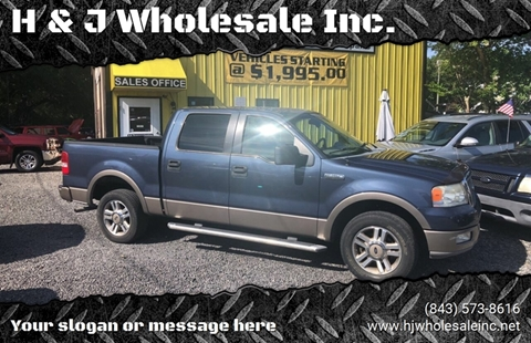 2005 Ford F-150 for sale in Charleston, SC