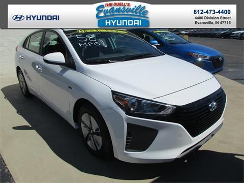 2017 Hyundai Ioniq Hybrid for sale in Evansville, IN