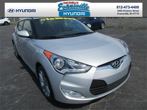 2017 Hyundai Veloster for sale in Evansville, IN
