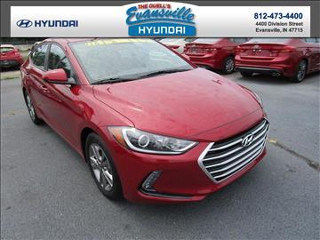 2017 Hyundai Elantra for sale in Evansville, IN