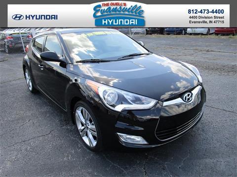 2017 Hyundai Veloster for sale in Evansville, IN
