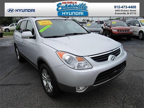 2012 Hyundai Veracruz for sale in Evansville, IN