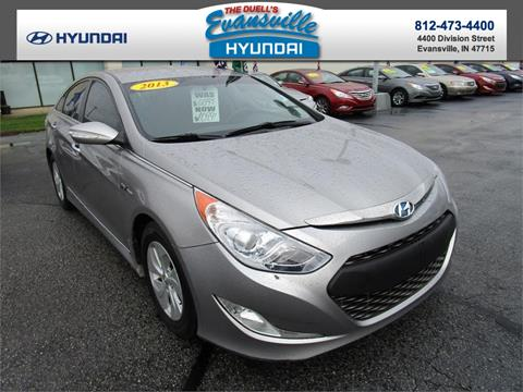 2013 Hyundai Sonata Hybrid for sale in Evansville, IN