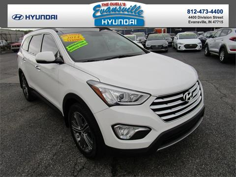 2014 Hyundai Santa Fe for sale in Evansville, IN