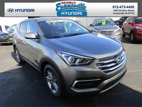 2018 Hyundai Santa Fe Sport for sale in Evansville, IN
