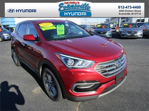2017 Hyundai Santa Fe Sport for sale in Evansville, IN
