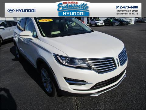 2015 Lincoln MKC for sale in Evansville, IN