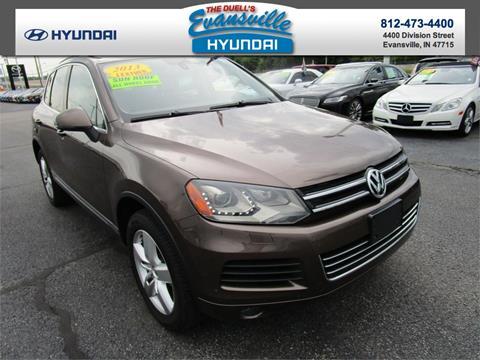 2013 Volkswagen Touareg for sale in Evansville, IN