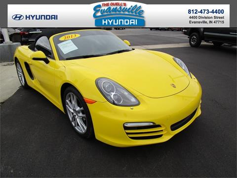 2013 Porsche Boxster for sale in Evansville, IN