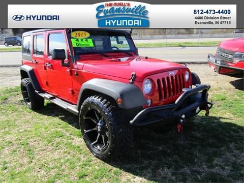 2015 Jeep Wrangler Unlimited for sale in Evansville, IN
