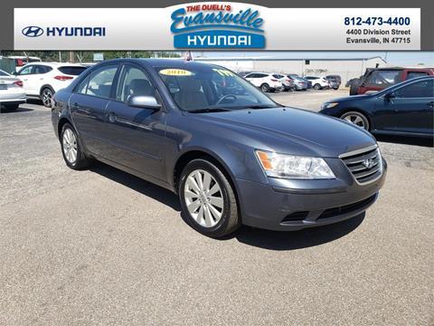 Used Cars Evansville In >> 2010 Hyundai Sonata For Sale In Evansville In