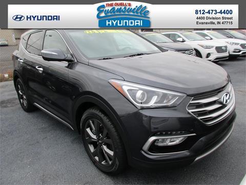 2017 Hyundai Santa Fe Sport for sale in Evansville, IN