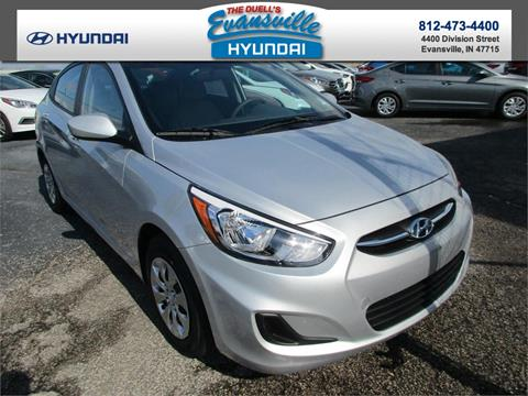 2017 Hyundai Accent for sale in Evansville, IN