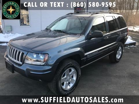 2004 Jeep Grand Cherokee for sale in Suffield, CT