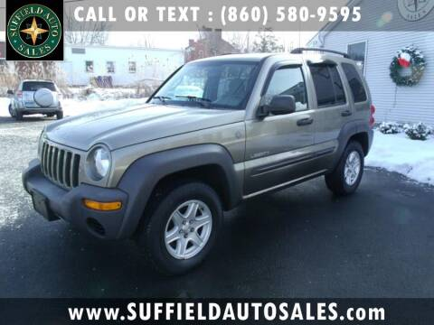 2004 Jeep Liberty for sale in Suffield, CT