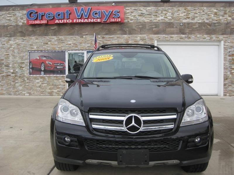 2008 Mercedes-Benz Gl-class car for sale in Detroit