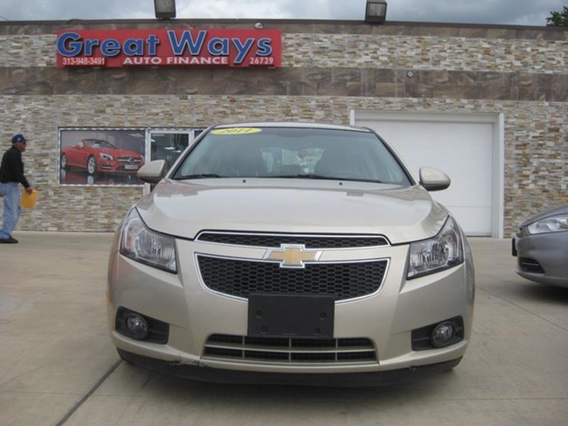 2011 Chevrolet Cruze car for sale in Detroit