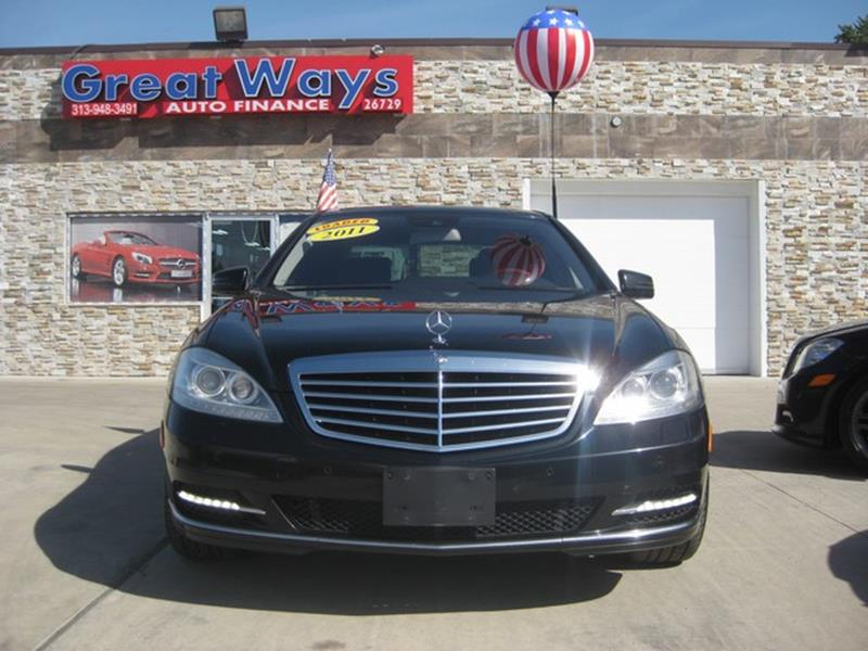2011 Mercedes-Benz S-class car for sale in Detroit