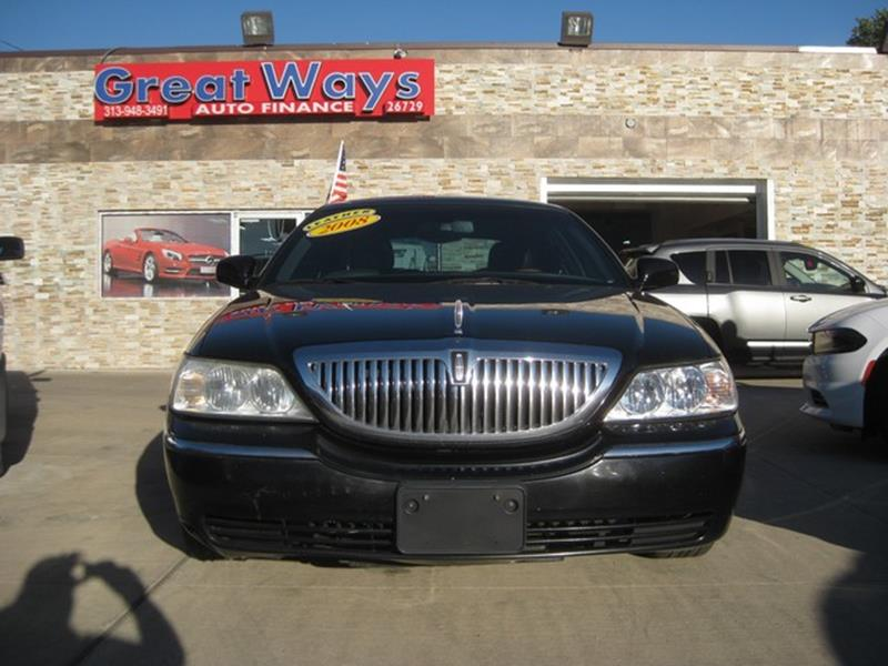 2008 Lincoln Town Car car for sale in Detroit