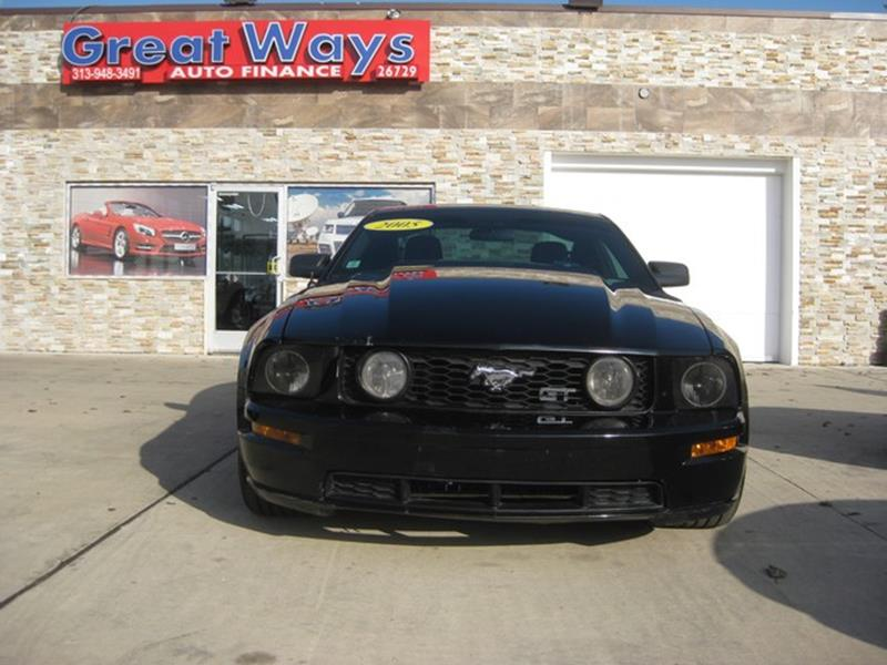 2005 Ford Mustang car for sale in Detroit
