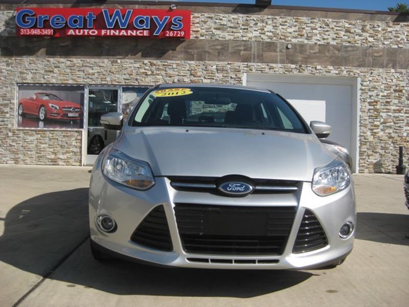 2012 Ford Focus car for sale in Detroit