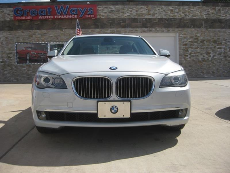 2009 Bmw 7 Series car for sale in Detroit