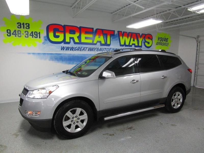 2012 Chevrolet Traverse car for sale in Detroit