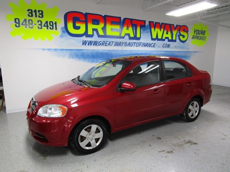 2010 Chevrolet Aveo car for sale in Detroit