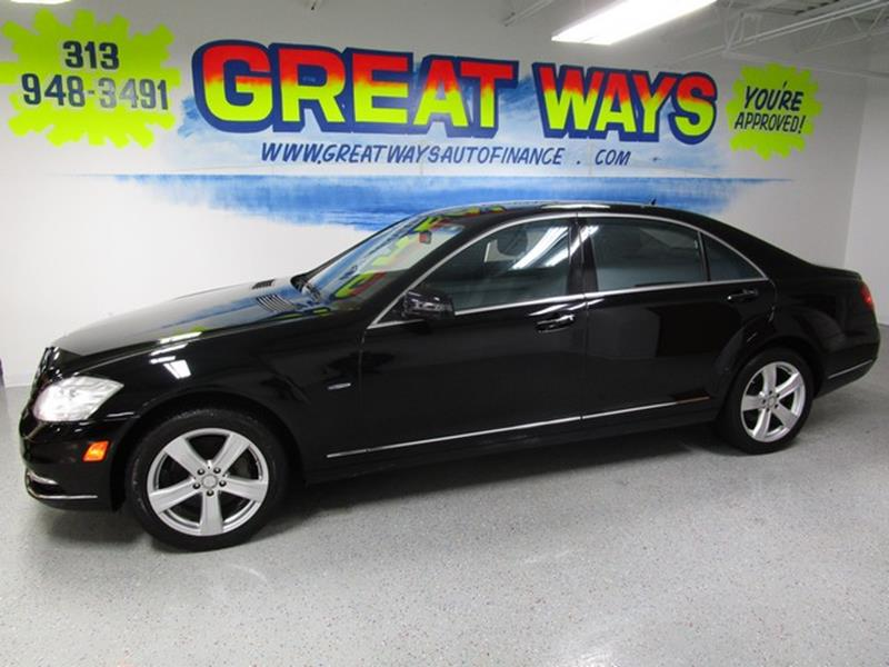 2012 Mercedes-Benz S-class car for sale in Detroit