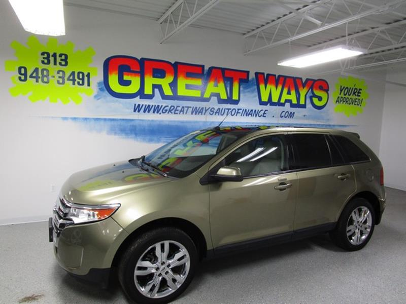Detroit Used Car For Sale  Ford Edge  At Us Auto Sales Imports In Redford Charter Town Mi Fmdkjcdbb
