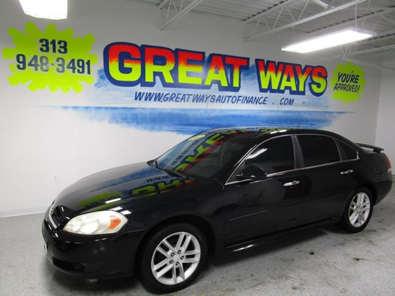 2011 Chevrolet Impala car for sale in Detroit