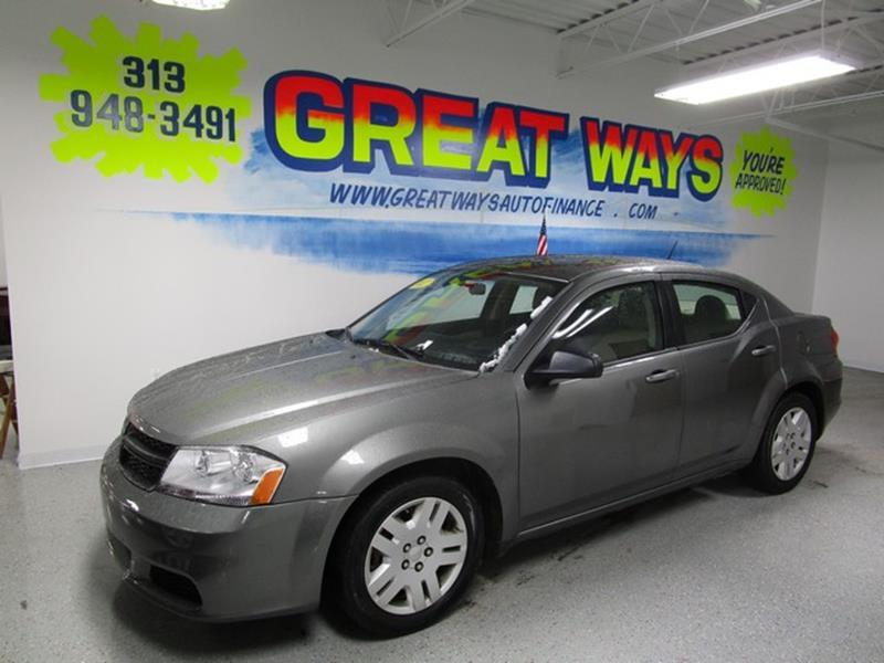 2012 Dodge Avenger car for sale in Detroit