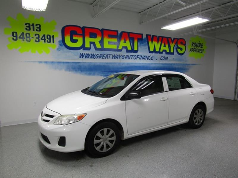 2011 Toyota Corolla car for sale in Detroit