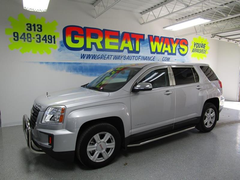 Detroit Used Car for Sale 2016 Gmc Terrain 48239 at US Auto Sales ...